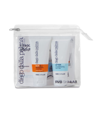 Diego Dalla Palma KIT WEEKEND PROTECTIVE CREAM FACE/BODY SPF 30 + SOOTHING AFTER BODY CREAM