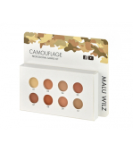 Malu Wilz Camouflage Professional Kit - 8 colors
