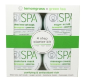 BCL lemongrass + green tea Starter Kit 4 x 90 ml