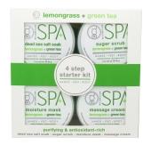 BCL lemongrass + green tea Starter Kit 4 x 90 ml