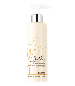 THÉMAÉ Organic certified face & eye make up remover 200ml