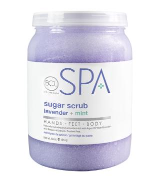BCL lavender + mint Sugar Scrub 1893ml