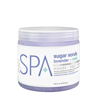BCL lavender + mint Sugar Scrub 454g