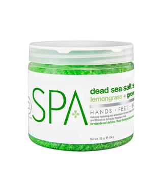 BCL lemongrass + green tea Dead Sea Salt Soak 454 g