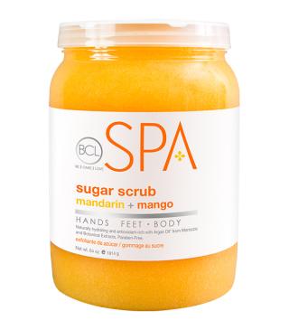BCL mandarina & mango Sugar Scrub 1893ml