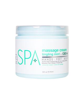 BCL mint + CBD Massage Cream 454 g