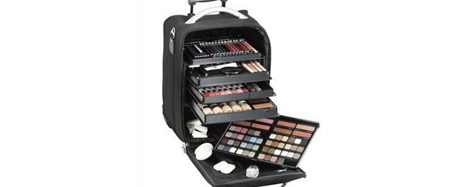 Malu Wilz profesionalni make-up kofer