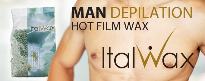 Man Depilation Hot Film Wax Italwax