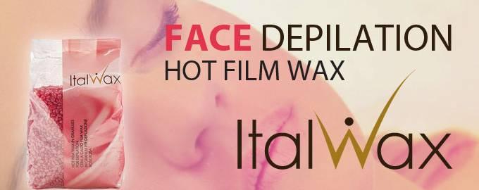Face Depilation Hot Film Wax Italwax