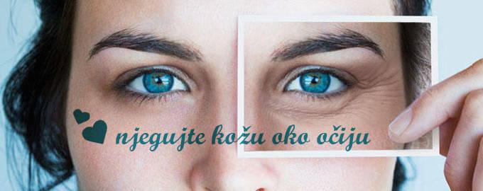 Njega kože oko očiju